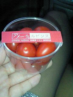 今日はトマトだっ!