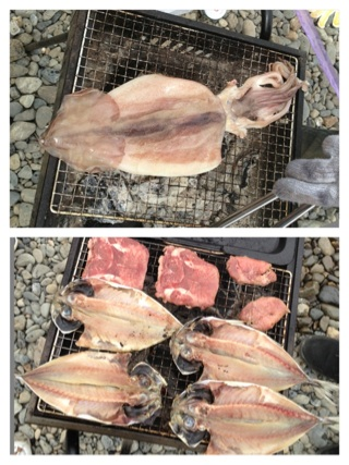 BBQ →トレーニング